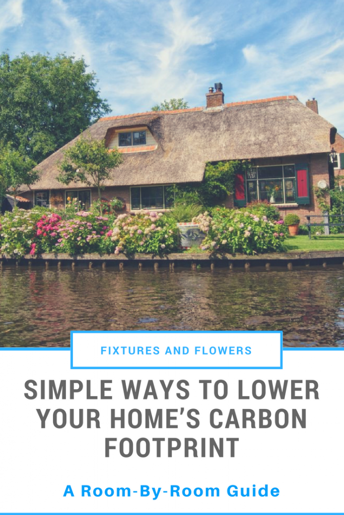 Reduce Home's Carbon Footprint pinable image for pinterest