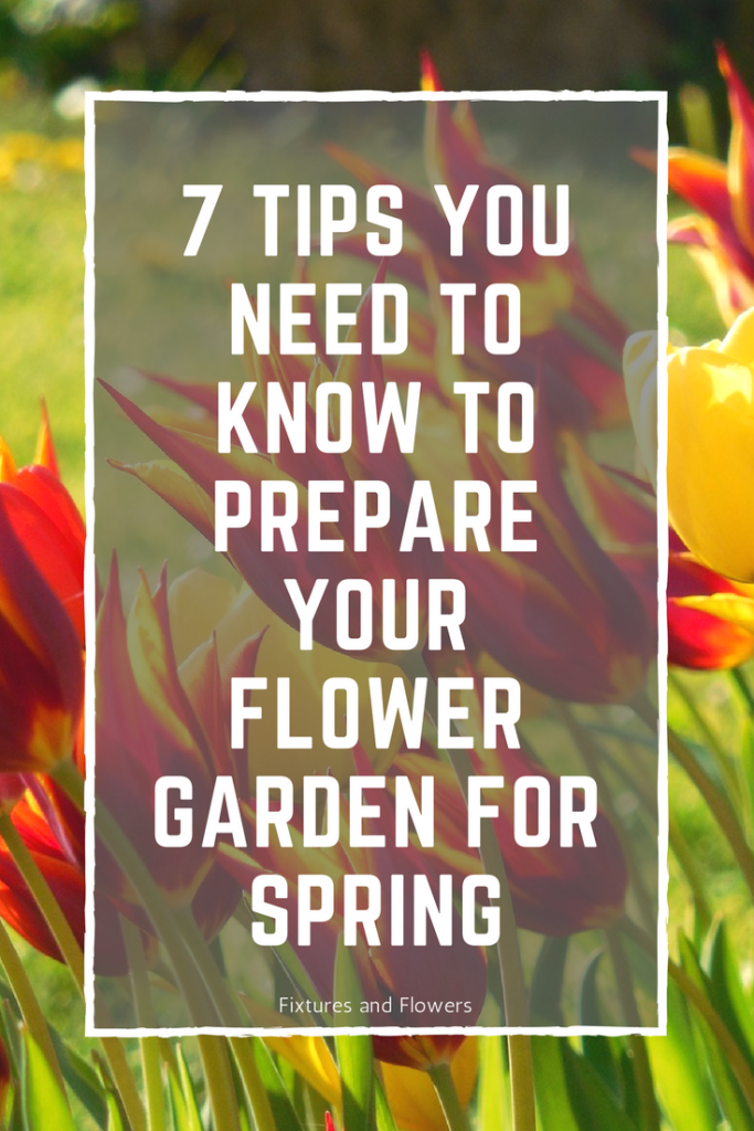 Prepare your flower garden for spring