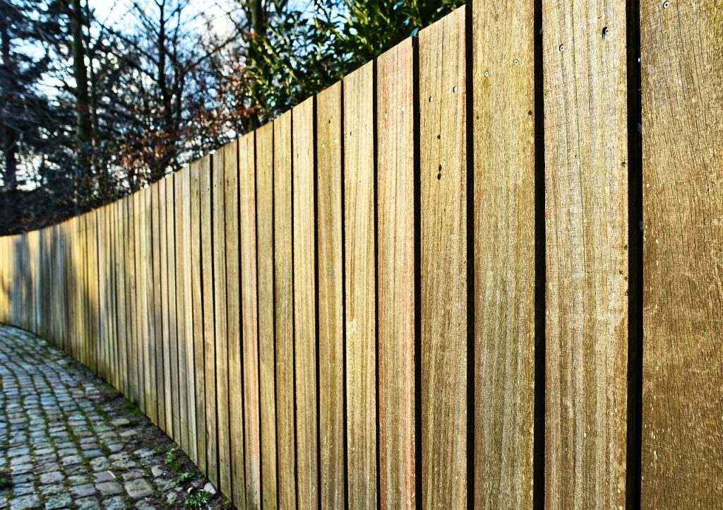 sustainable fence patio options