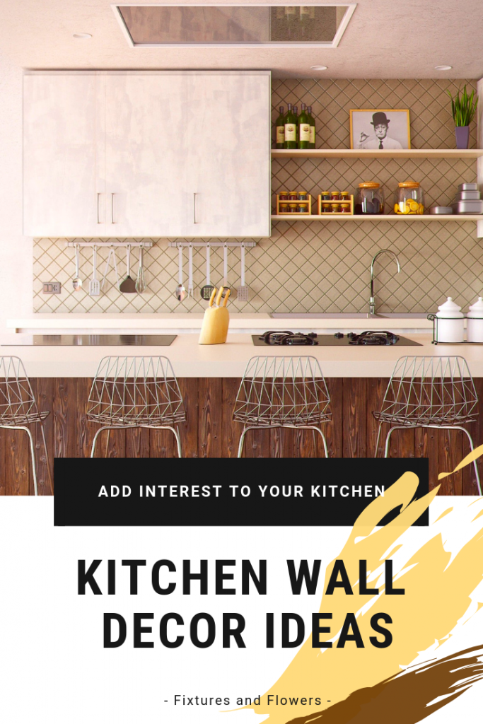 kitchen wall decore ideas pinterest image