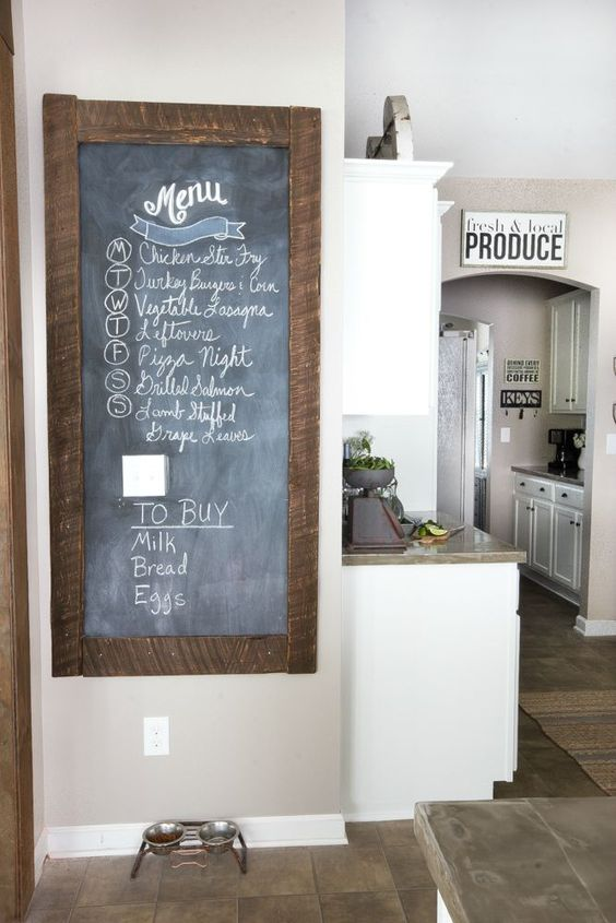 chalkboard for kitchen wall